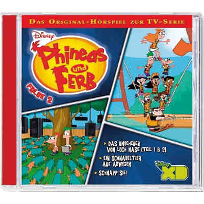 CD Phineas & Ferb - TV Serie 2