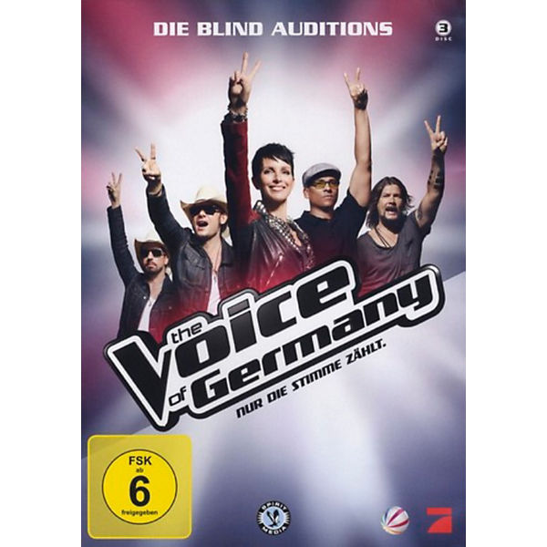 DVD The Voice of Germany - Blind Auditions