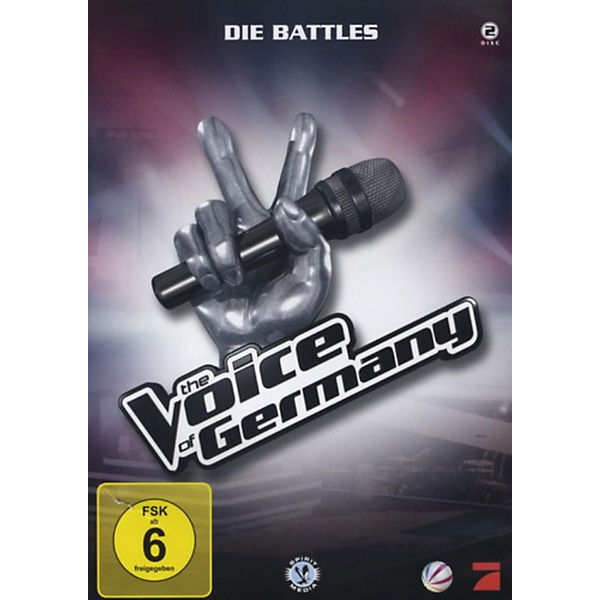 DVD The Voice of Germany - Die Battles