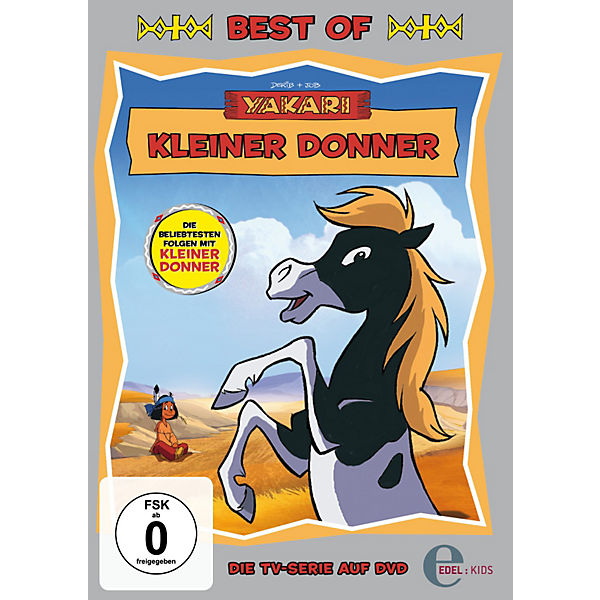 DVD Yakari - Kleiner Donner (Best of)
