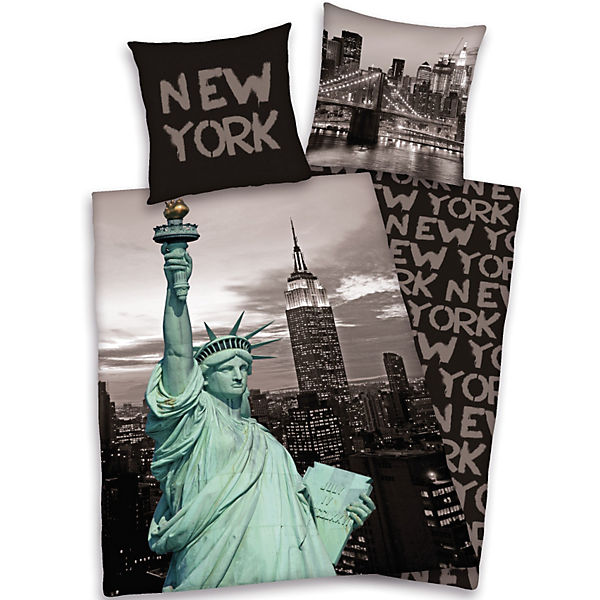 bettw sche new york my blog. Black Bedroom Furniture Sets. Home Design Ideas