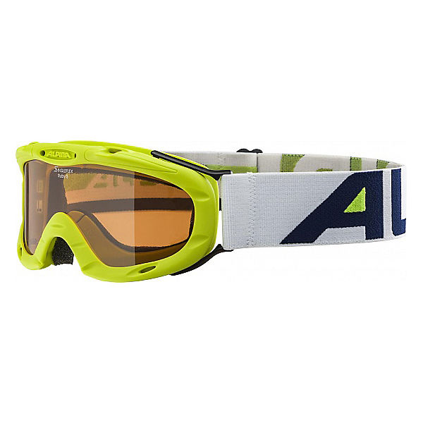 Skibrille Ruby S, lime