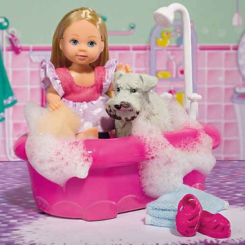 "Набор ""Еви моет собачку"", Steffi Love от Simba"