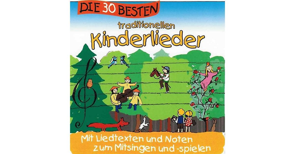 CD Die 30 besten traditionellen Kinderlieder