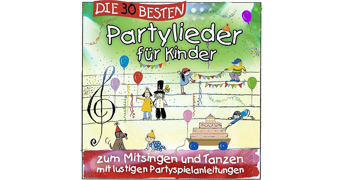 CD Die 30 besten Partylieder Kinder Kinder