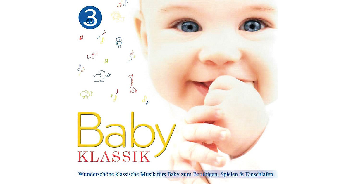 CD Baby Klassik Box - klassische Musik Babys Ki...