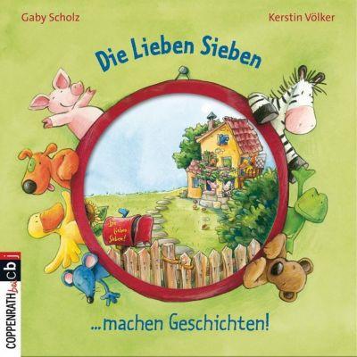 Kinderteppich die lieben sieben  Die Lieben Sieben - Vorlesegeschichten, Audio-CD, Gaby Scholz | myToys