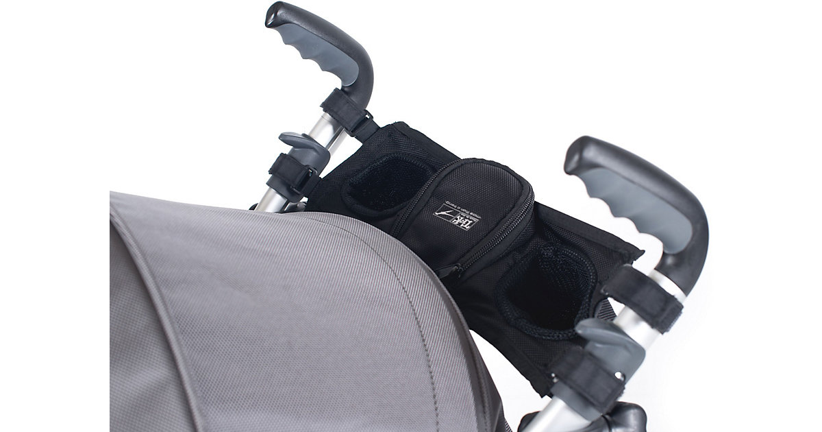 Cupholder Twinner Twist Duo, Joggster X, X II & Buggster S Air, schmal, schwarz Kinder