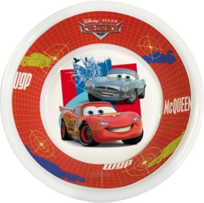 Cars Mc Queen  Kinderteller Kinder Geschirr Melamin SET Becher+Schale+Teller