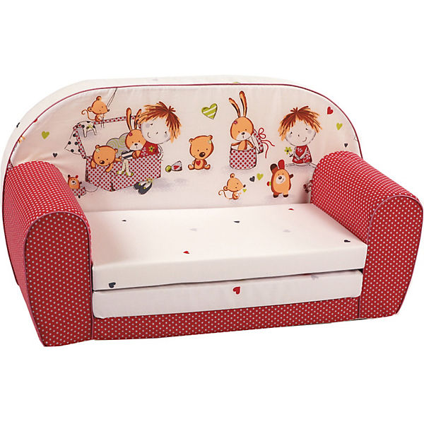 kindersofa spielzimmer rot knorr baby mytoys. Black Bedroom Furniture Sets. Home Design Ideas