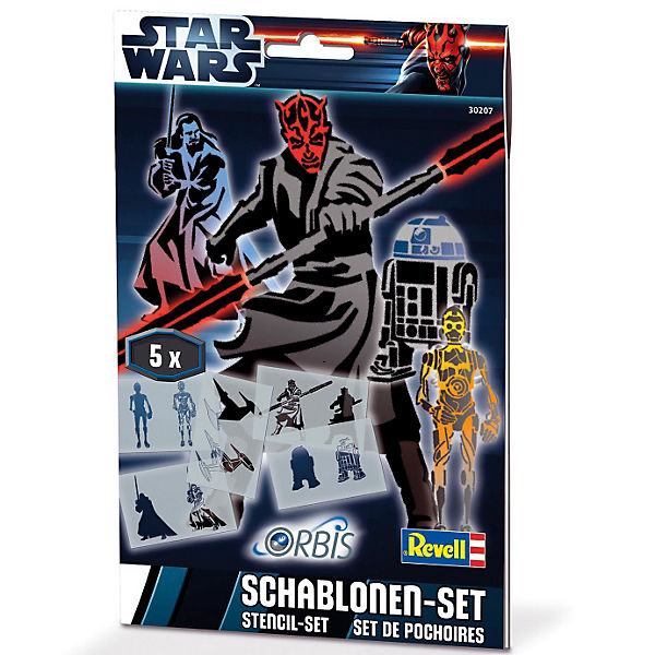 Orbis 30207 Schablonen-Set Star Wars III