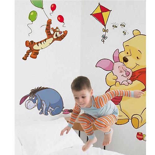 Decofun Wandsticker Winnie the Pooh, Bother Free Days, groß, 17-tlg. Sale Angebote Drieschnitz-Kahsel