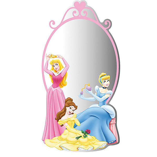 spiegel disney princess 30 x 50 cm disney princess mytoys. Black Bedroom Furniture Sets. Home Design Ideas