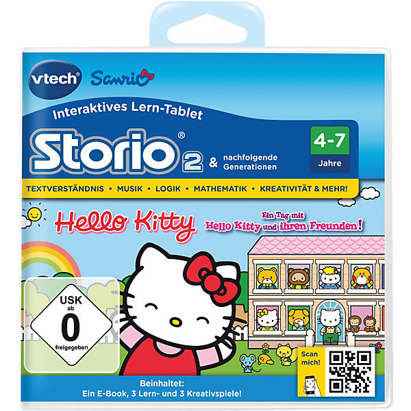 "Storio 2, 3 & Max Lernspiel ""Hello Kitty"""