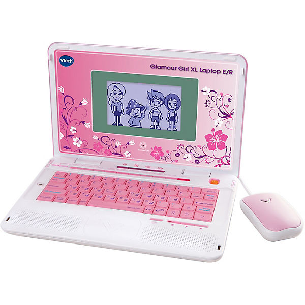 Power Laptop XL Glamour Girl pink