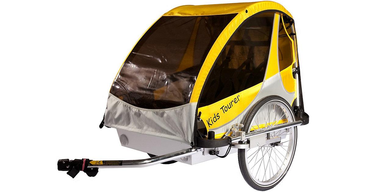 Kid's Touring · Fahrradanhänger Kid´s Tourer M2, gelb/silber