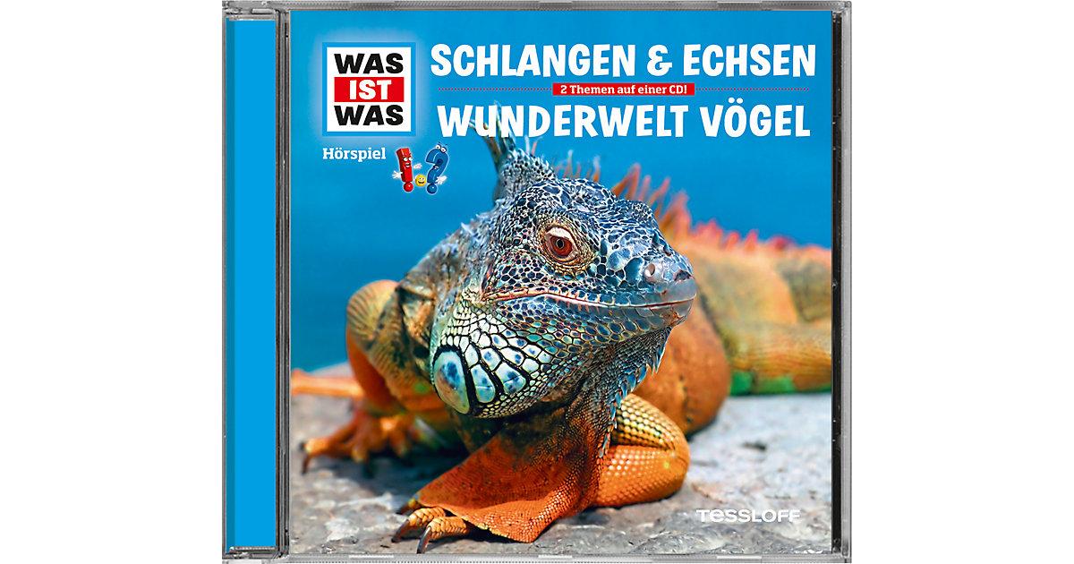 CD Was Ist Was 48 - Schlangen und Echsen / Vögel