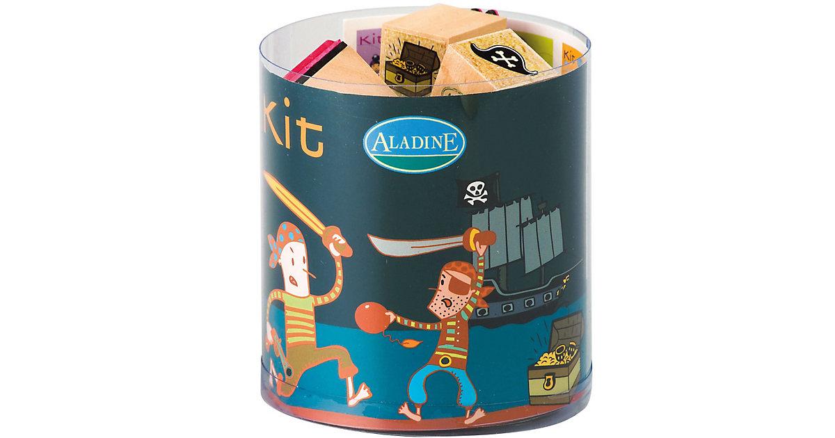 Aladine STAMPO´KIDS Mini-Stempelset Piraten, 16...