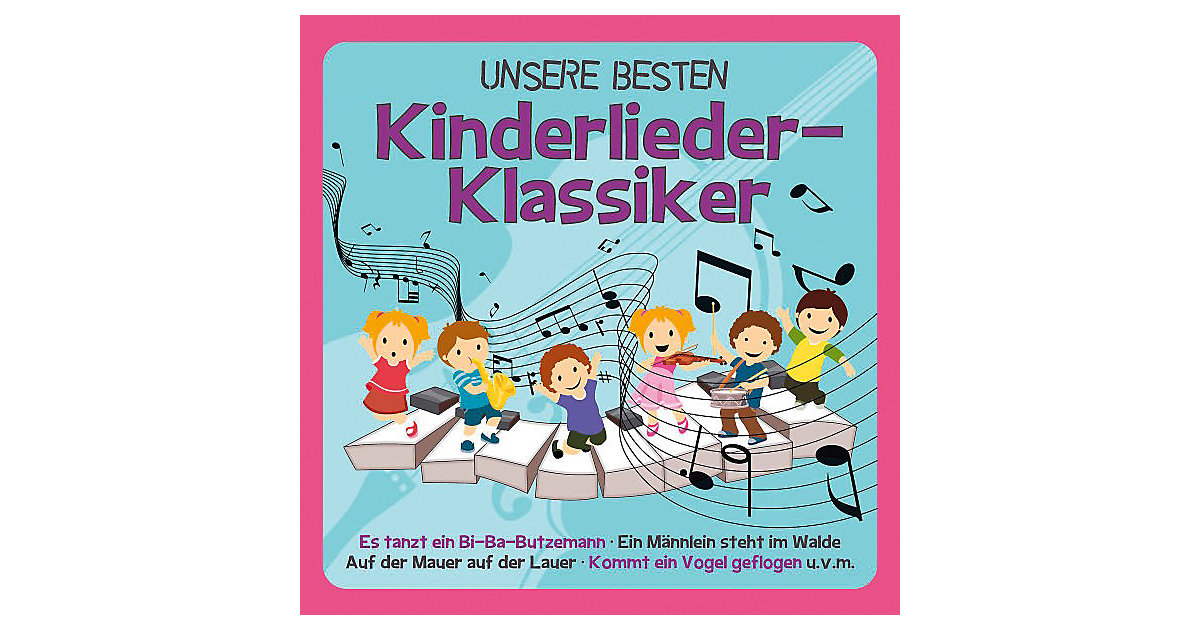 CD Unsere besten Kinderlieder-Klassiker