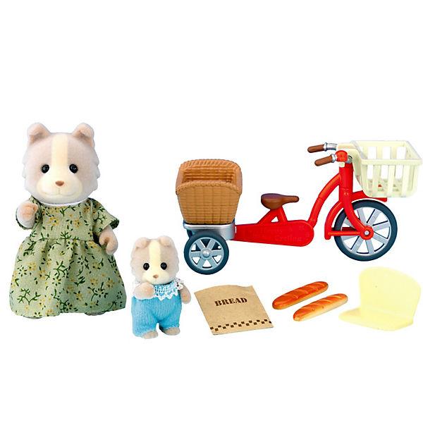 """Набор """"Велосипедная прогулка"""" Sylvanian Families"""