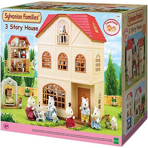 """Набор """"Трехэтажный дом"""" Sylvanian Families от Эпоха Чудес"""