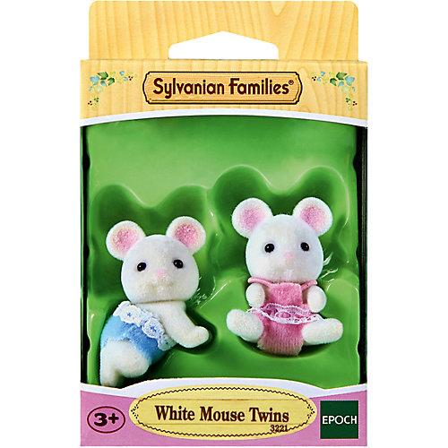 """Набор """"Белые Мышата-двойняшки"""" Sylvanian Families от Эпоха Чудес"""