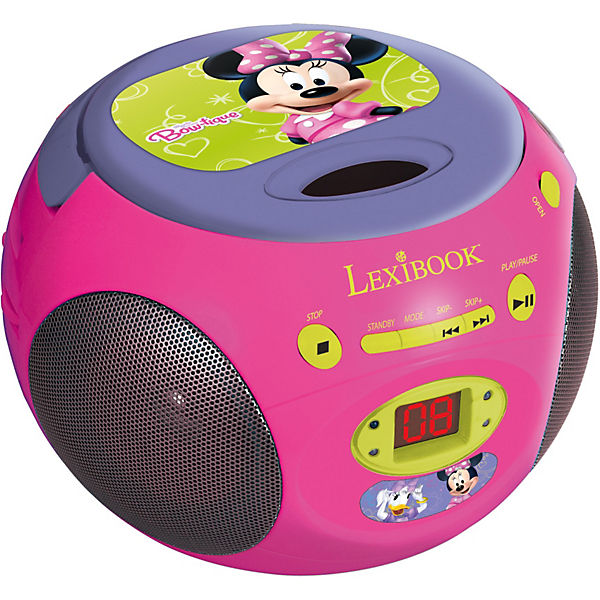 minnie mouse cd player mit radio disney minnie mouse mytoys. Black Bedroom Furniture Sets. Home Design Ideas