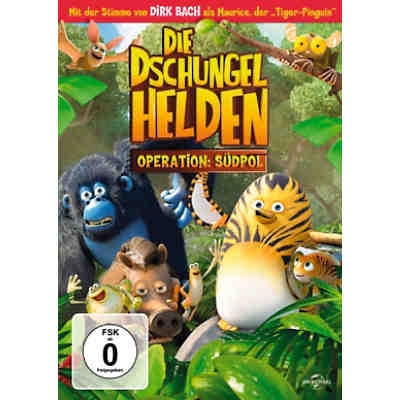 DVD Die Dschungelhelden - Operation: Südpol