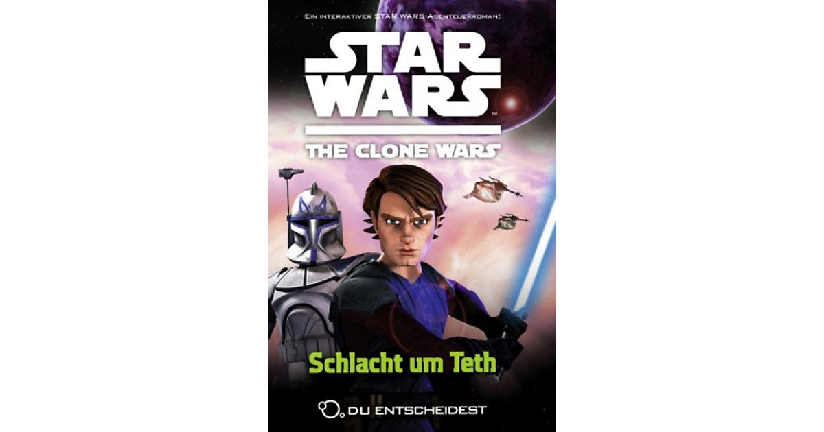 Buch - Star Wars The Clone Wars: Du entscheidest: Schlacht um Teth