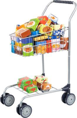 Einkaufswagen, 60-tlg. befüllt