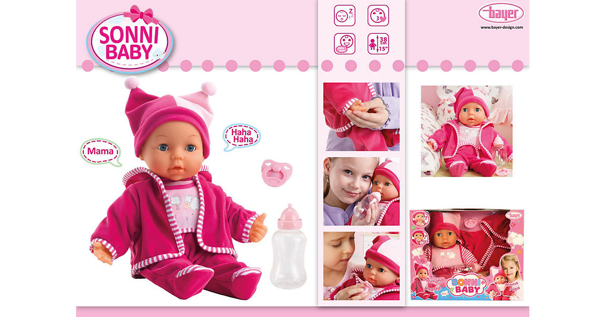 Babypuppe Sonni, 38 cm