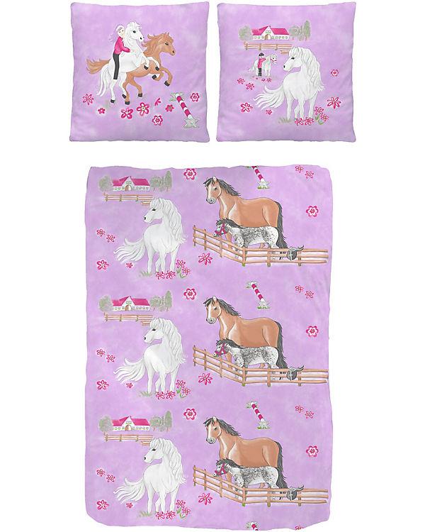Bettwasche Madchen Pferde