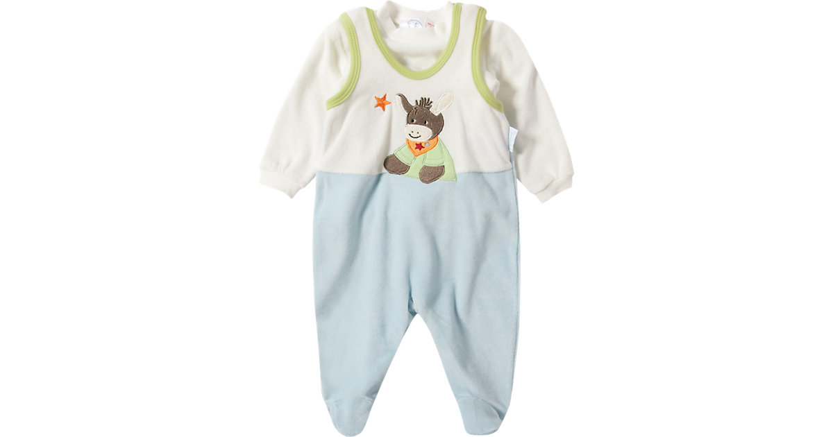 Sterntaler · STERNTALER Baby Set Strampler + Langarmshirt Emmi Gr. 56 Jungen Baby