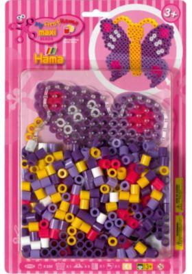 Bügelperlen Neue Mode Hama Maxi Perlen Dose Garten Mit 600 Perlen