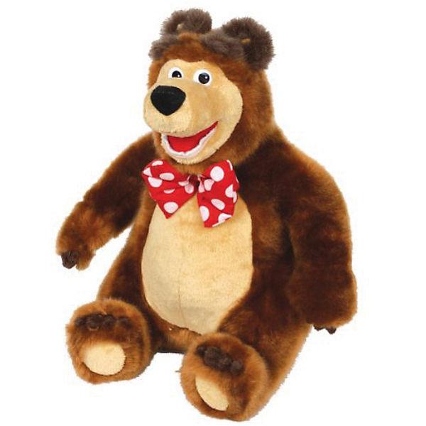 """Мягкая игрушка  Мишка, 28 см., """"Маша и Медведь"""", МУЛЬТИ-ПУЛЬТИ"""