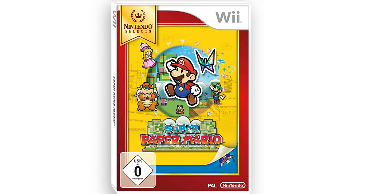 Vorschaubild von Wii Super Paper Mario - Nintendo Selects