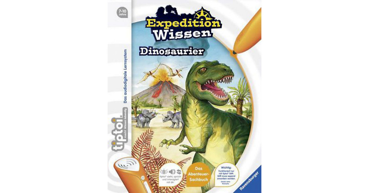 tiptoi®: Expedition Wissen - Dinosaurier