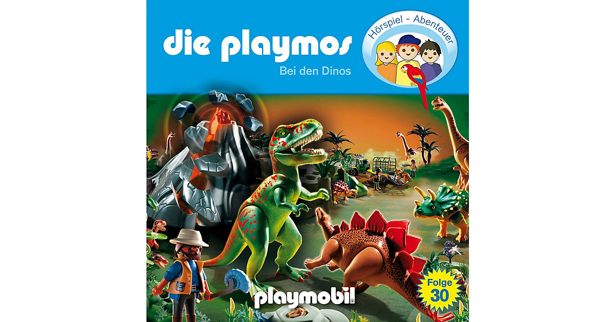 CD Die Playmos 30 - Bei den Dinos Hörbuch