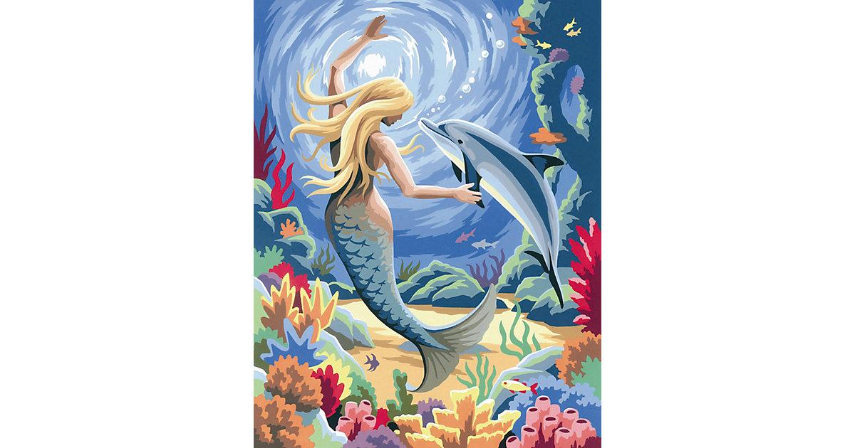 Malen nach Zahlen Junior Meerjungfrau