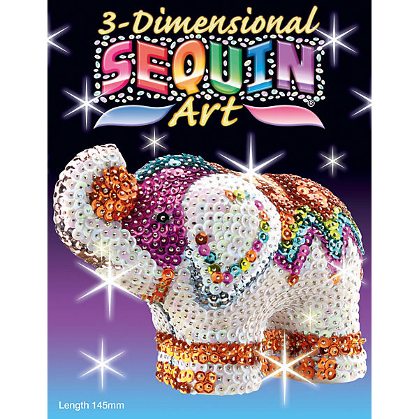 Sequin Art 3D - Elefant