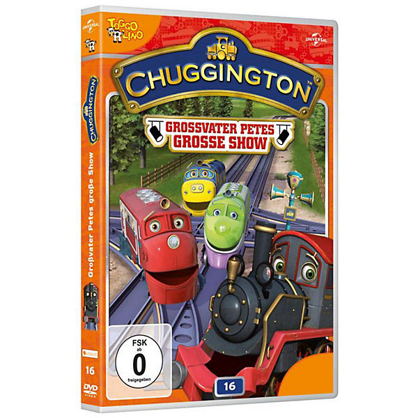 DVD Chuggington - Vol. 16