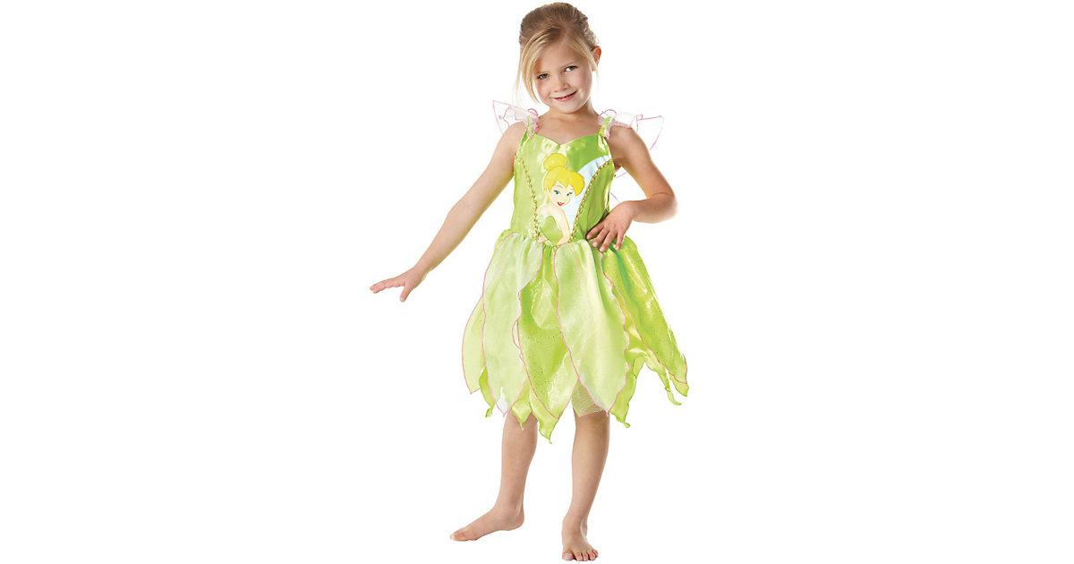 Kostüm Tinker Bell Classic mit Aufdruck Gr. 104/116 Mädchen Kleinkinder