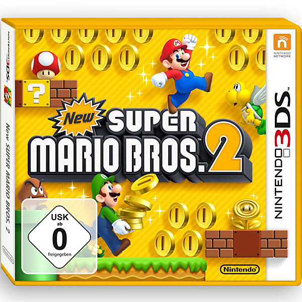 3ds New Super Mario Bros 2 Super Mario