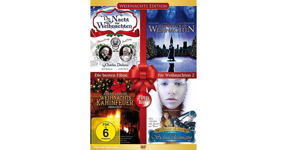 DVD Die besten Filme Weihnachten II (4 Filme au...