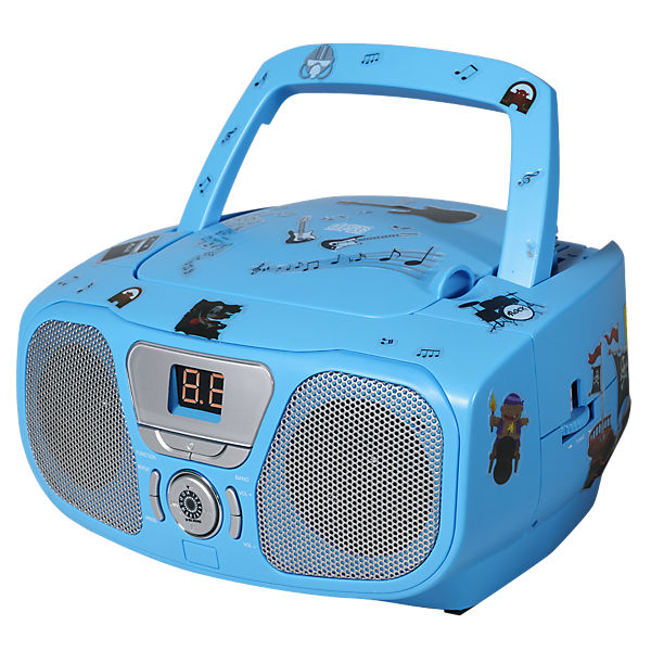 cd player mit radio cd 46 kids blau bigben mytoys. Black Bedroom Furniture Sets. Home Design Ideas