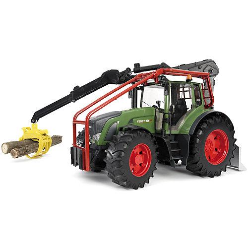 Трактор Fendt Vario лесной с манипулятором, Bruder от Bruder