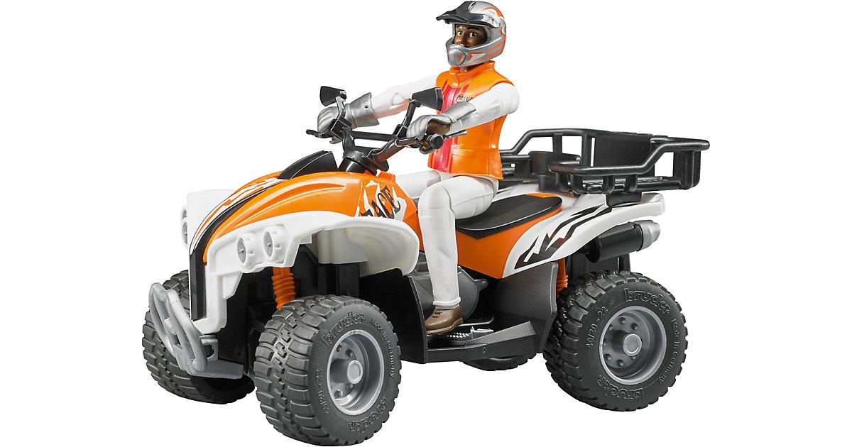BRUDER 63000 bworld Quad mit Fahrer