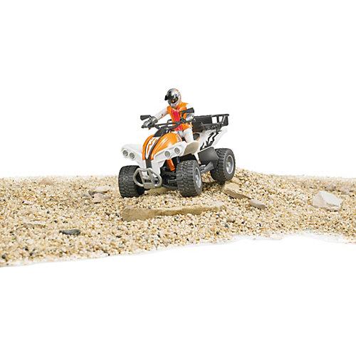 Машинка Bruder Квадроцикл с гонщиком от Bruder