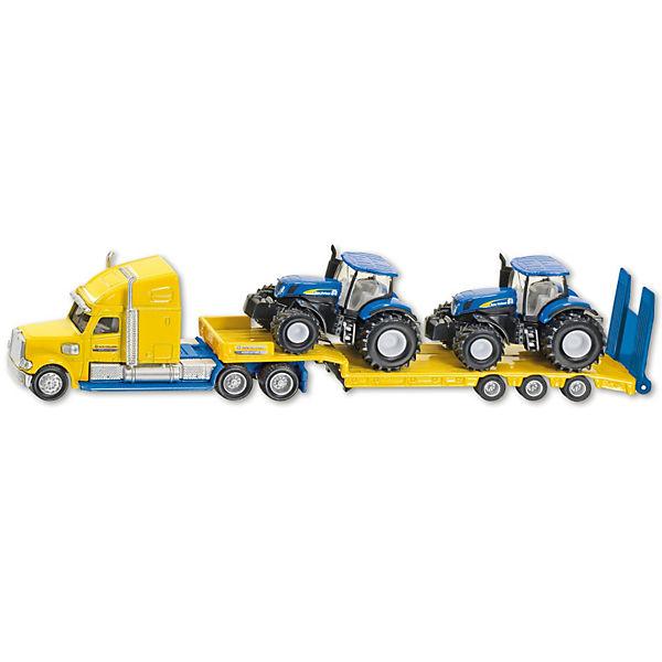 SIKU 1805 LKW mit New Holland Traktor, SIKU