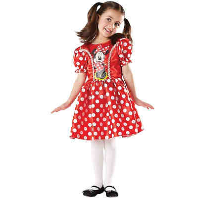 Kostüm Red Minnie Mouse Classic mit Aufdruck